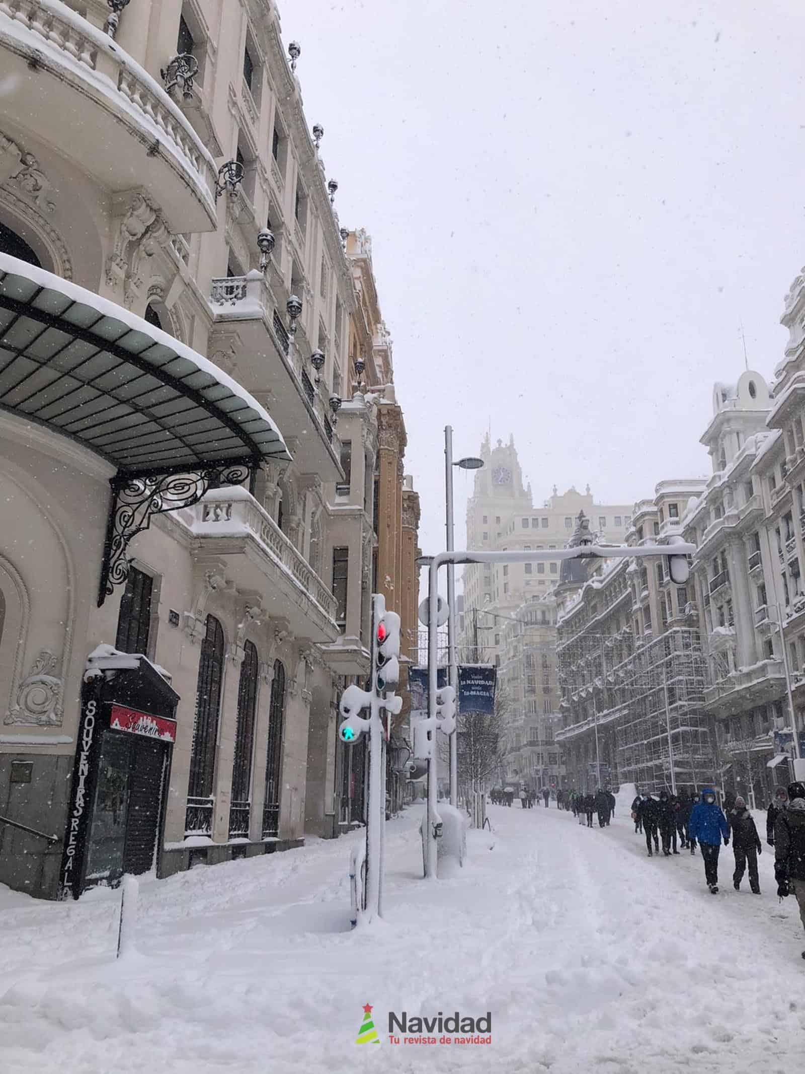 Fotografías de la nevada de enero en Madrid (España) 92