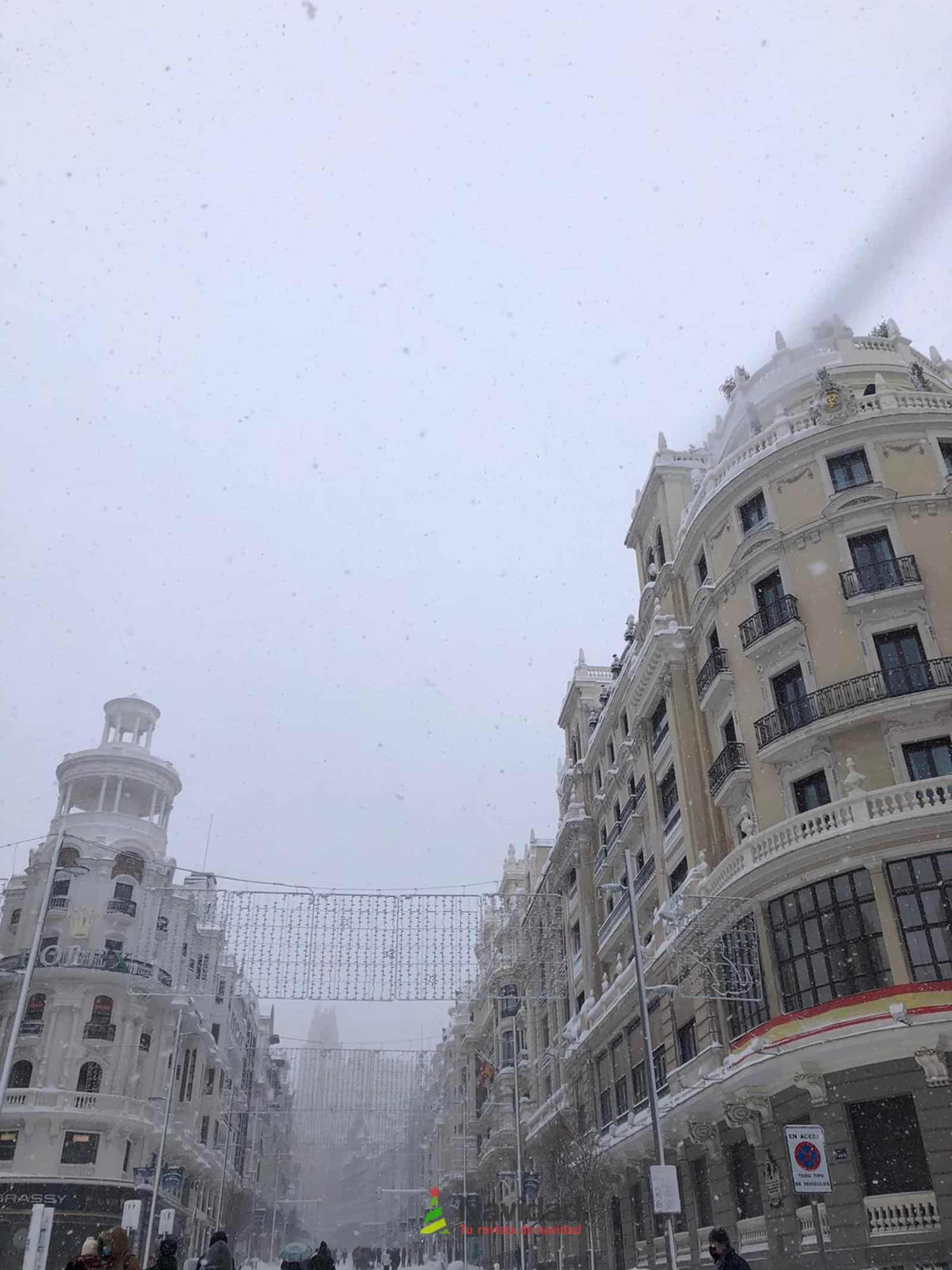 Fotografías de la nevada de enero en Madrid (España) 93