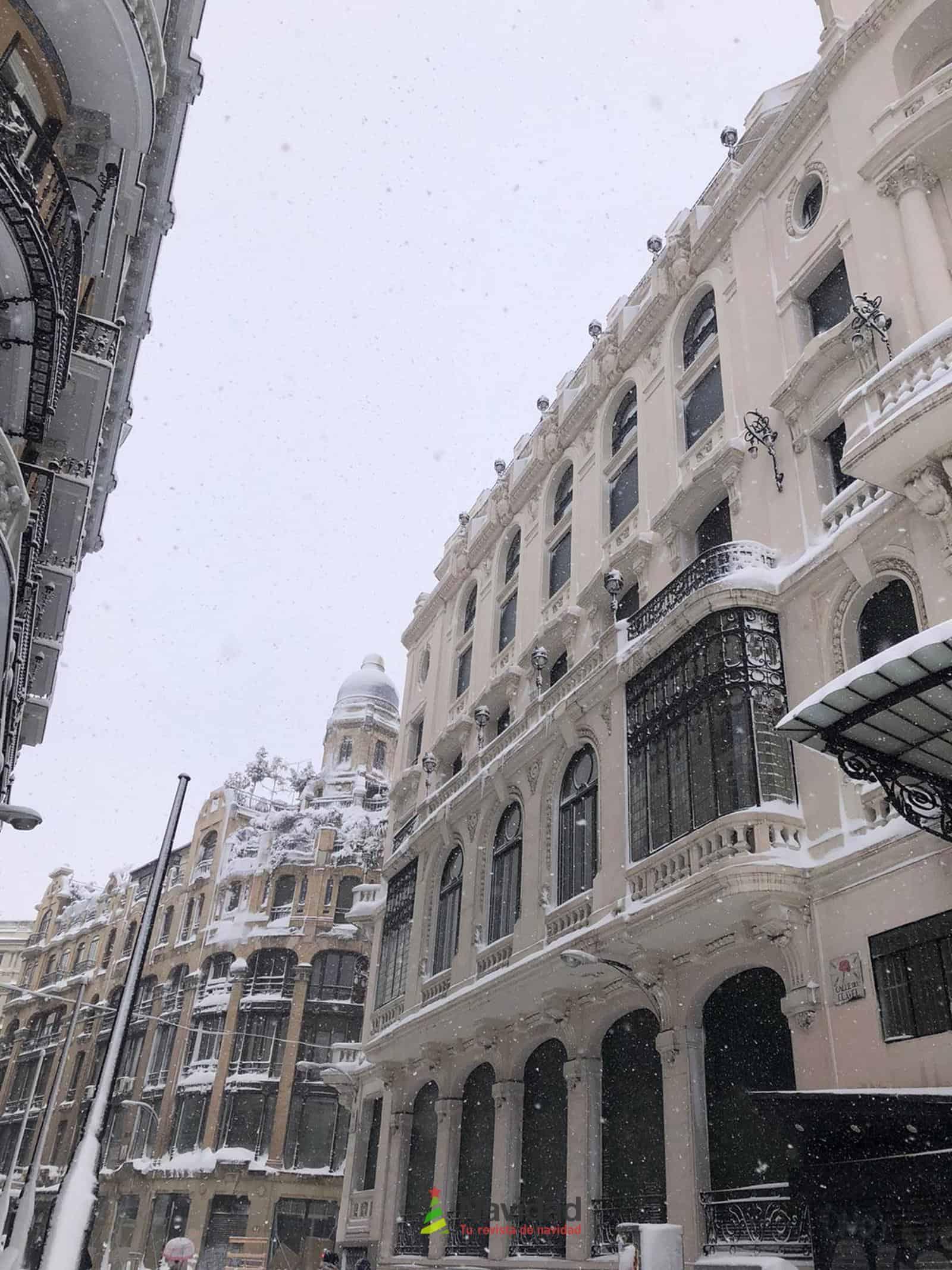 Fotografías de la nevada de enero en Madrid (España) 94