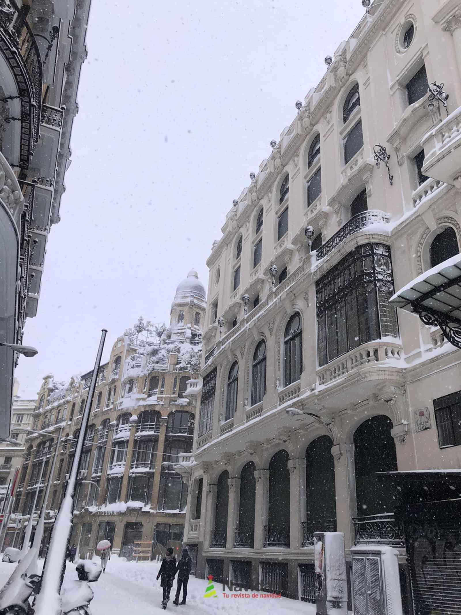 Fotografías de la nevada de enero en Madrid (España) 96