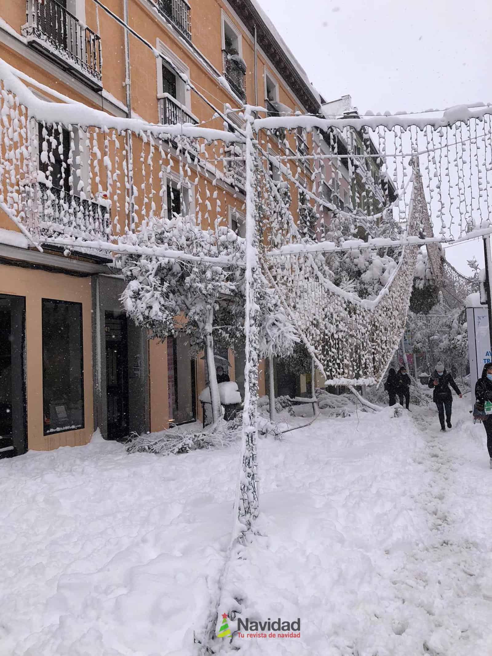 Fotografías de la nevada de enero en Madrid (España) 173