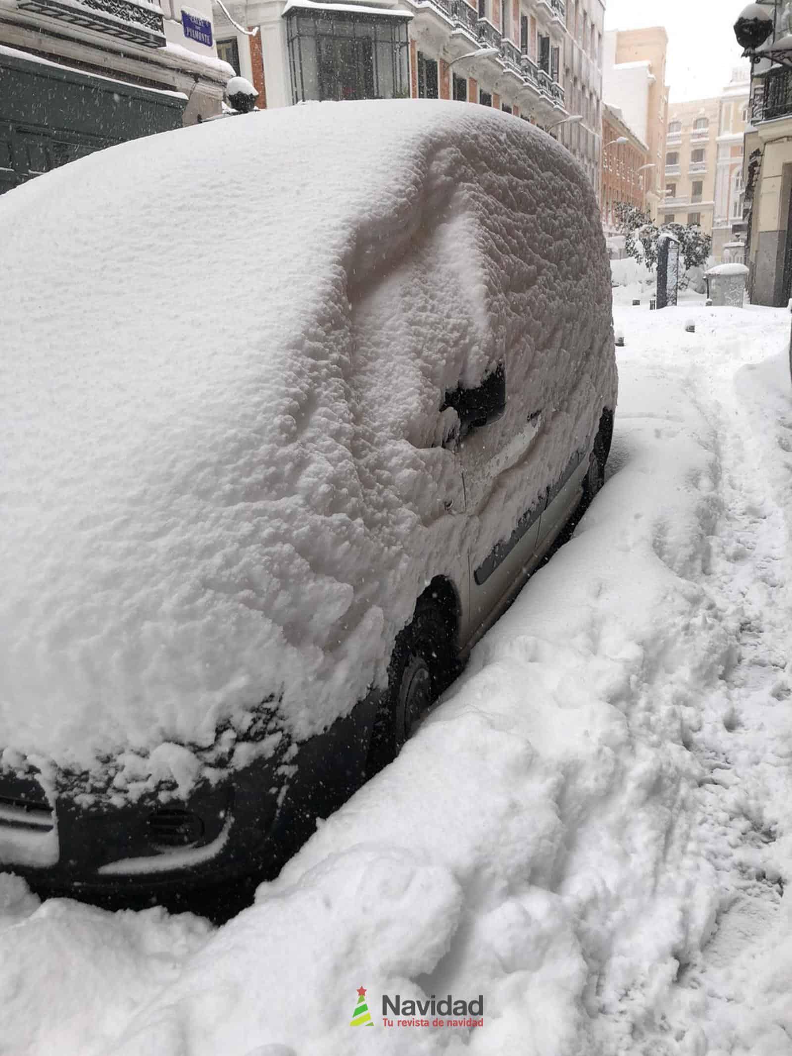 Fotografías de la nevada de enero en Madrid (España) 101