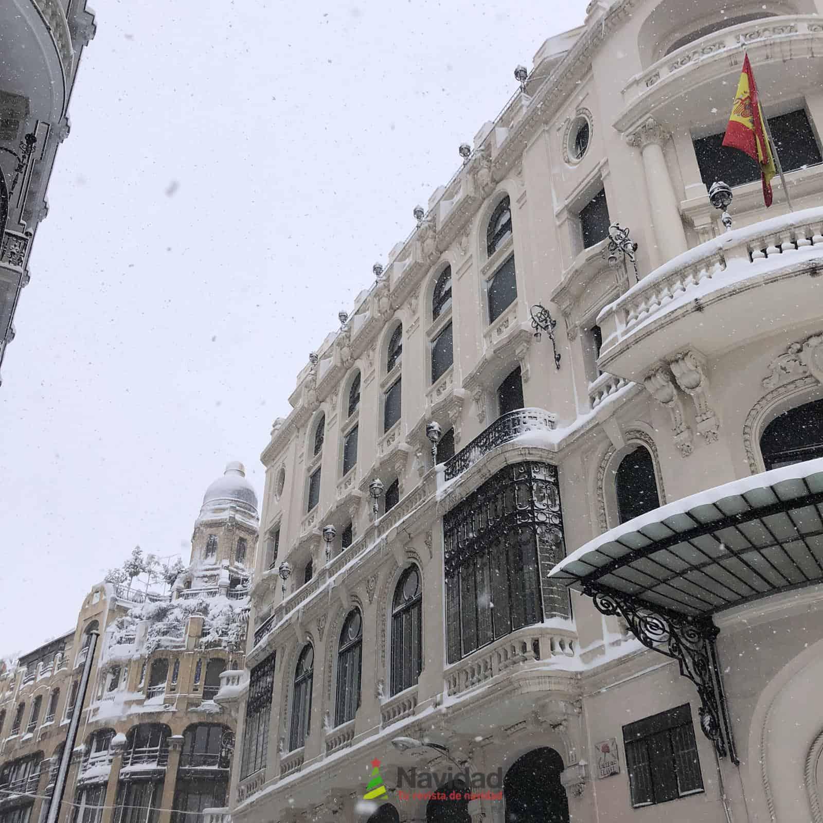 Fotografías de la nevada de enero en Madrid (España) 104