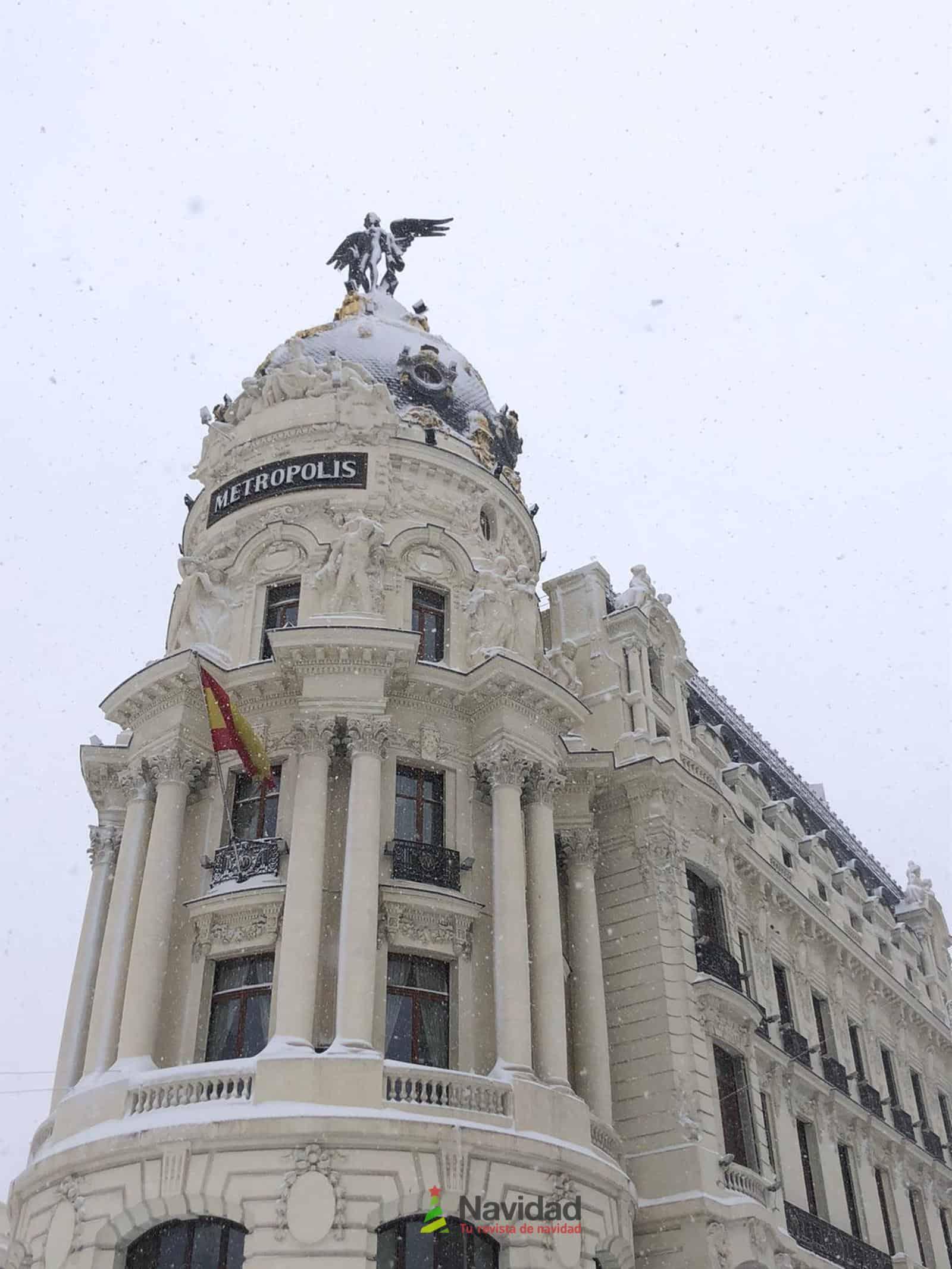 Fotografías de la nevada de enero en Madrid (España) 105