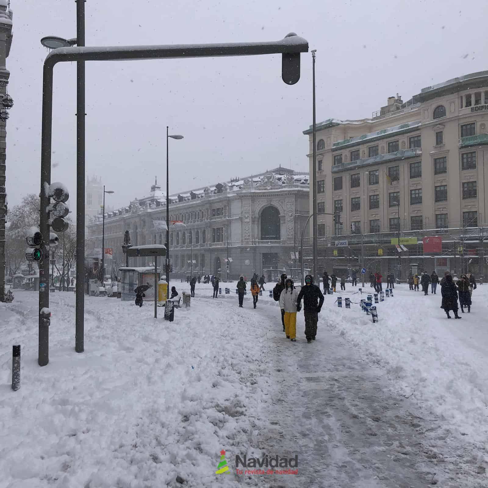 Fotografías de la nevada de enero en Madrid (España) 106