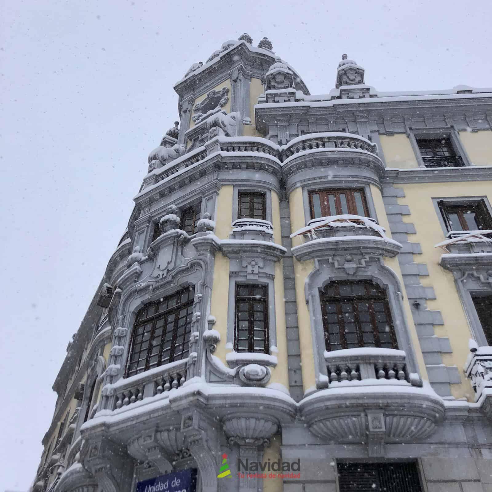 Fotografías de la nevada de enero en Madrid (España) 107