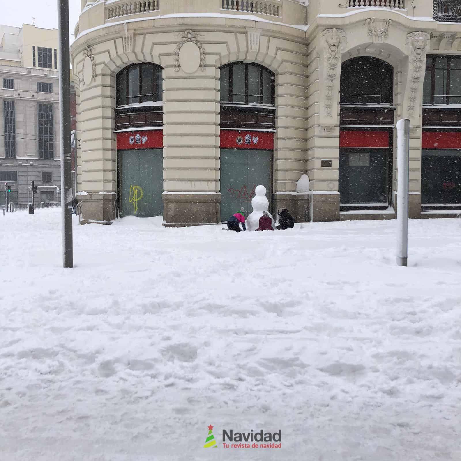Fotografías de la nevada de enero en Madrid (España) 109