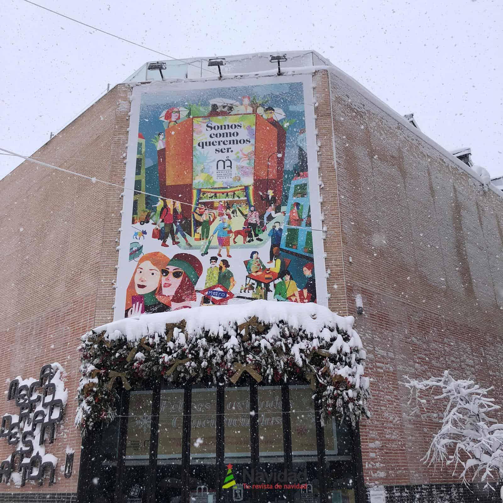 Fotografías de la nevada de enero en Madrid (España) 112