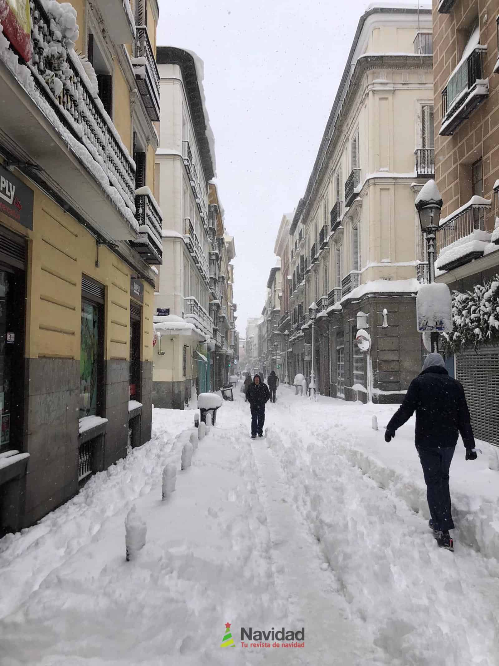 Fotografías de la nevada de enero en Madrid (España) 114