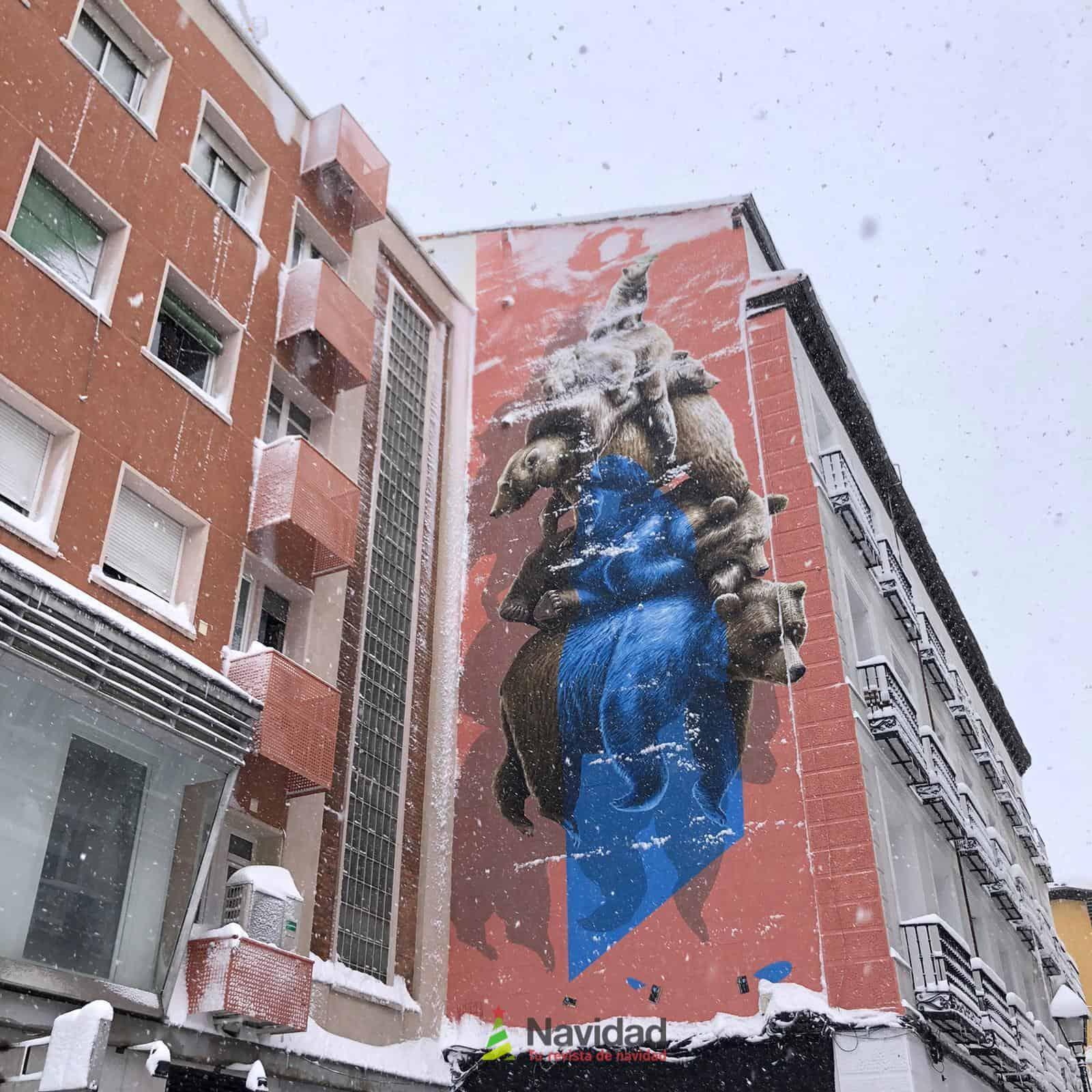 Fotografías de la nevada de enero en Madrid (España) 190