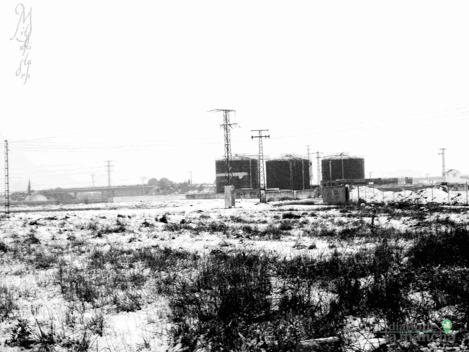 Fotografías de la primera nevada de 2021 en Tomelloso 29