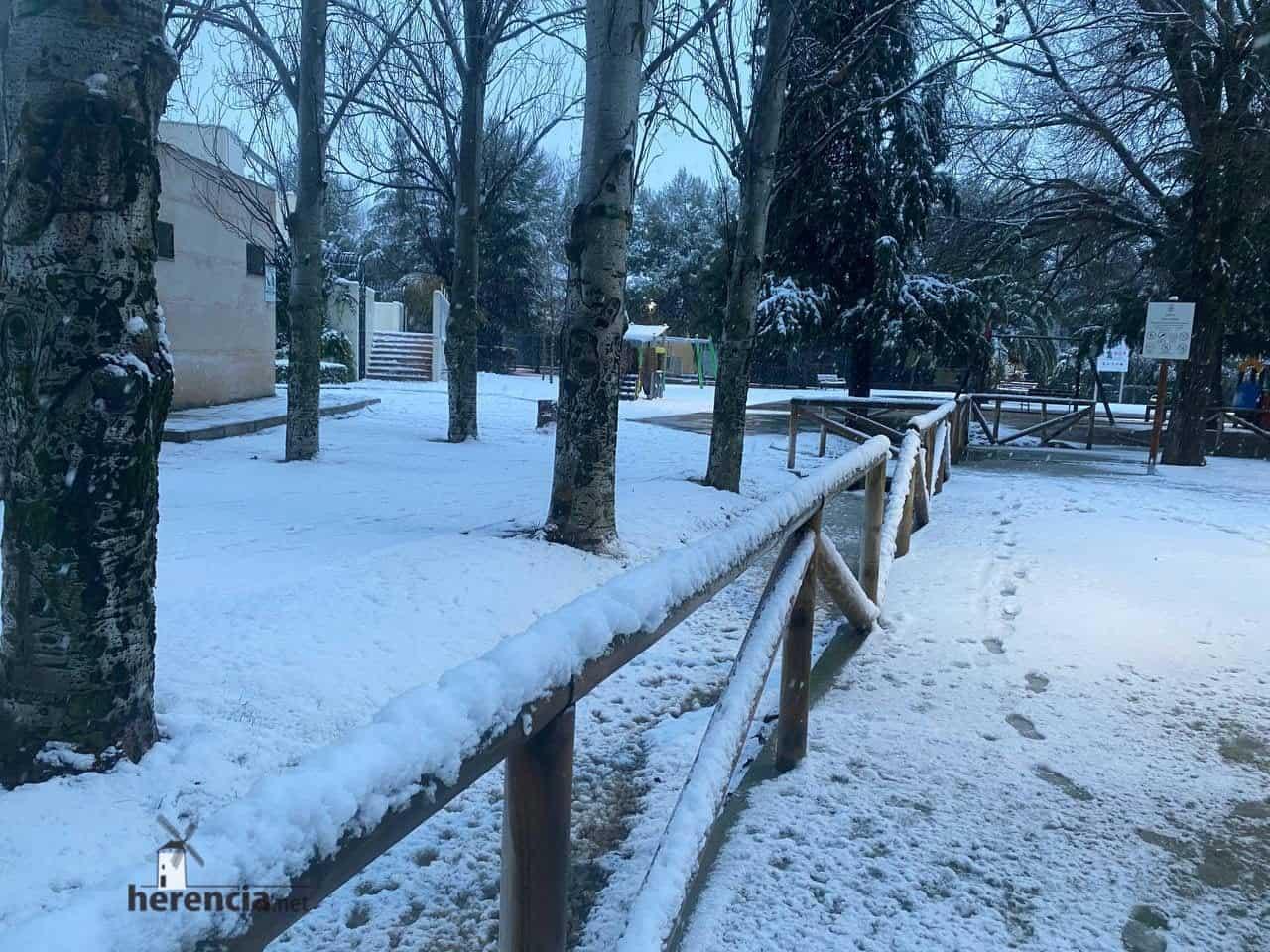 Fotografías de la nevada en Herencia (Ciudad Real) 56