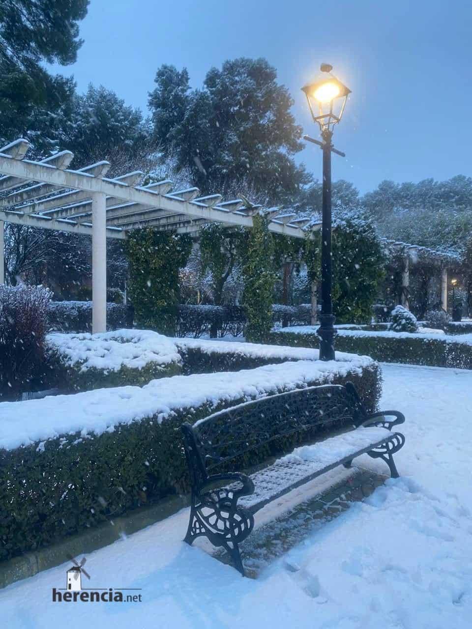 Fotografías de la nevada en Herencia (Ciudad Real) 57