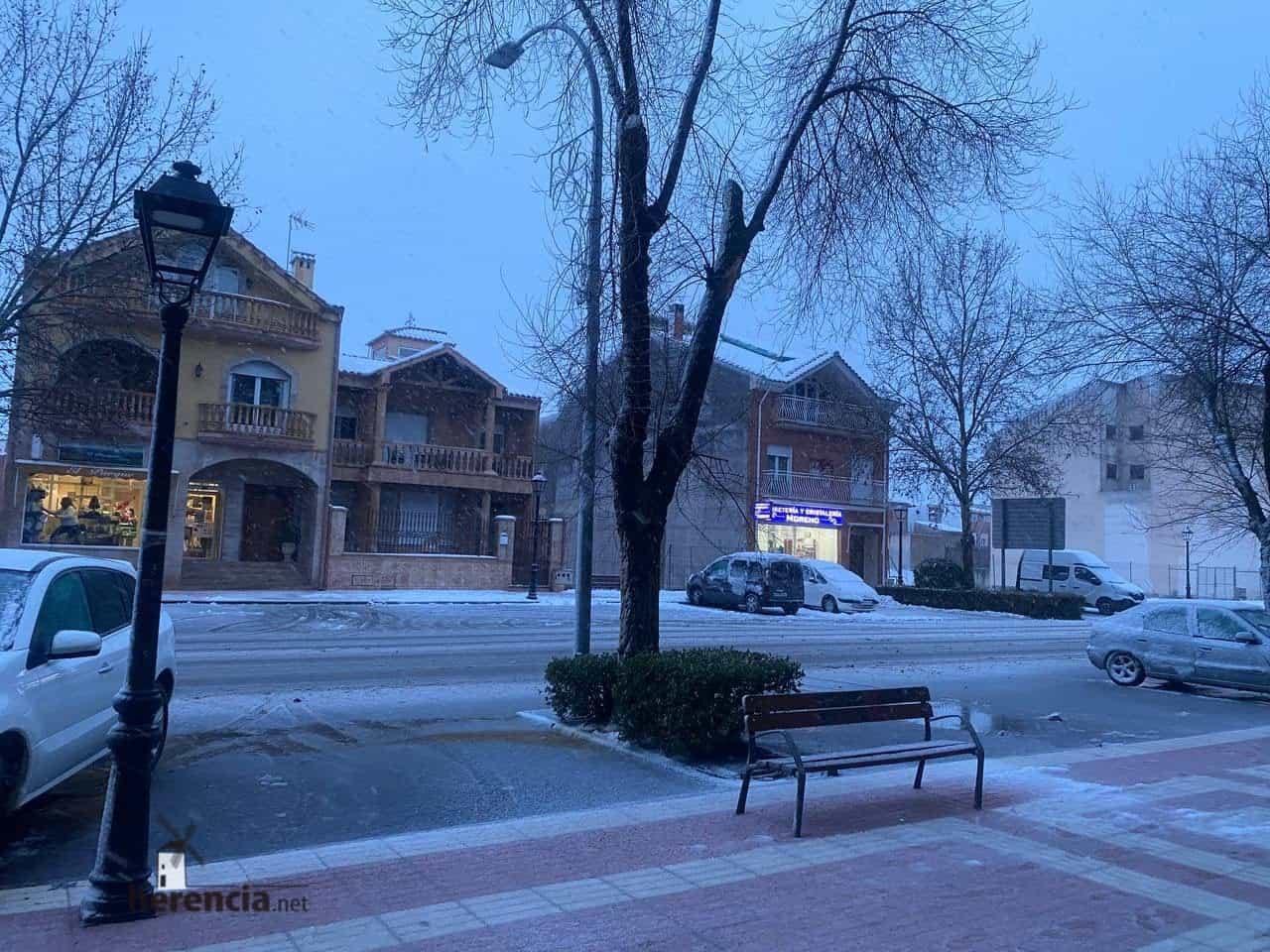 Fotografías de la nevada en Herencia (Ciudad Real) 58