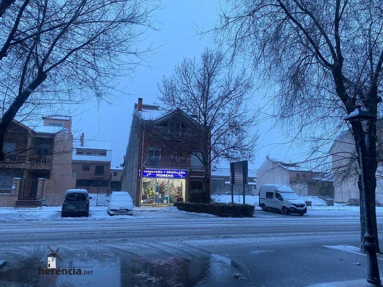 Fotografías de la nevada en Herencia (Ciudad Real) 60