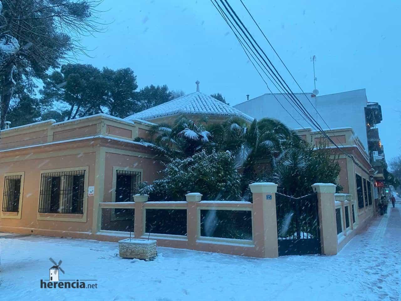 Fotografías de la nevada en Herencia (Ciudad Real) 61