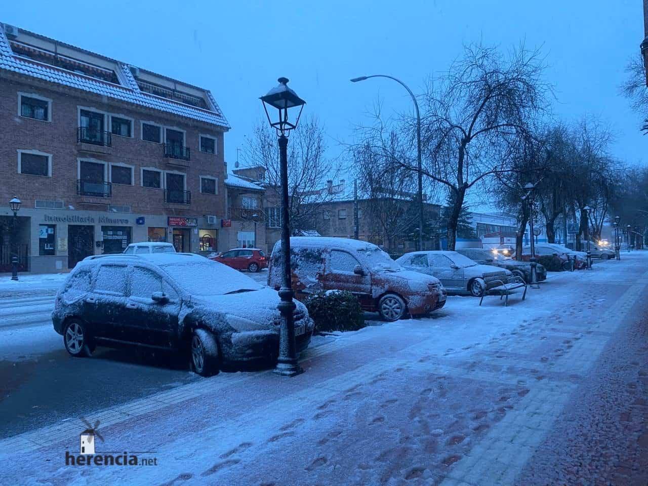 Fotografías de la nevada en Herencia (Ciudad Real) 62