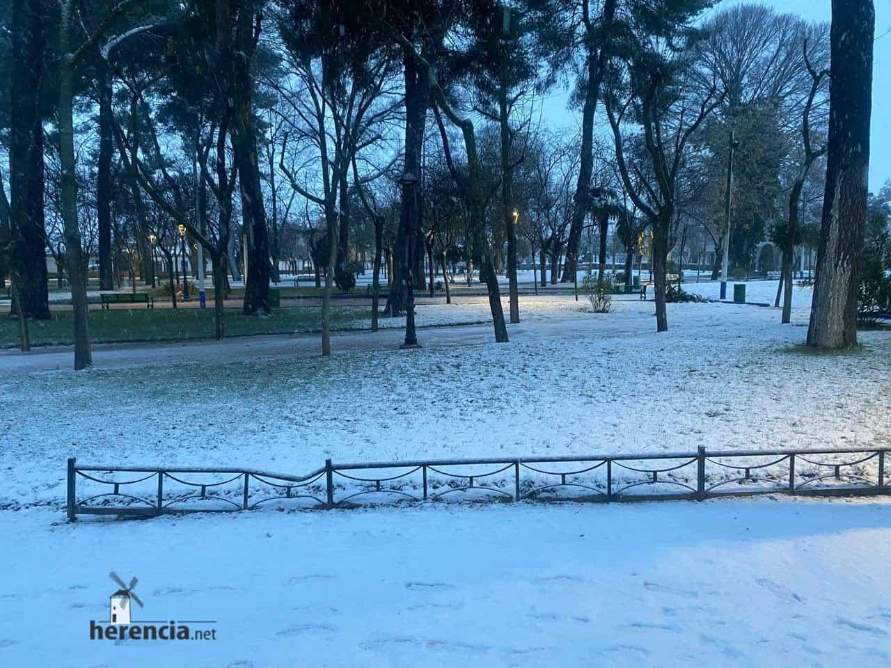 Fotografías de la nevada en Herencia (Ciudad Real) 63