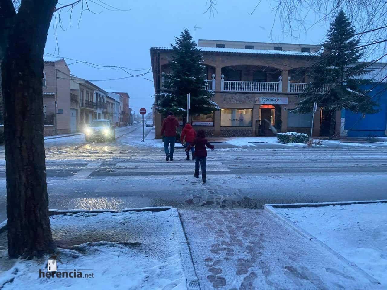 Fotografías de la nevada en Herencia (Ciudad Real) 66