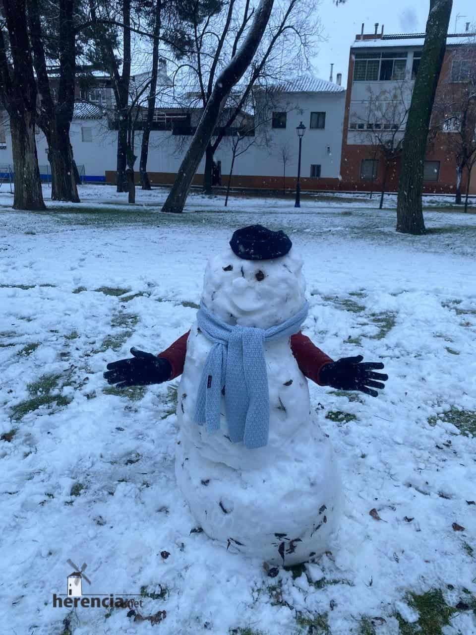 Fotografías de la nevada en Herencia (Ciudad Real) 54