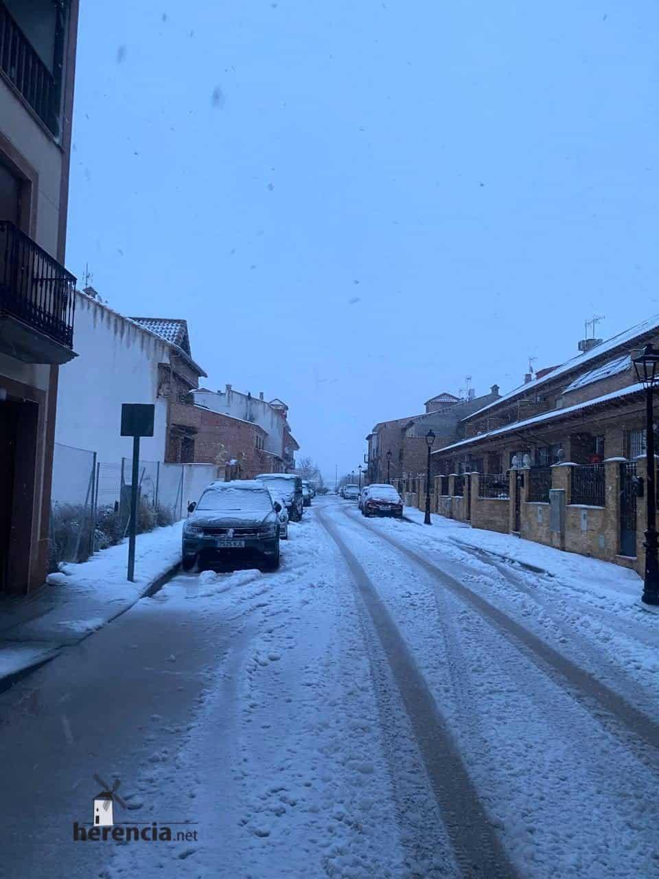 Fotografías de la nevada en Herencia (Ciudad Real) 67