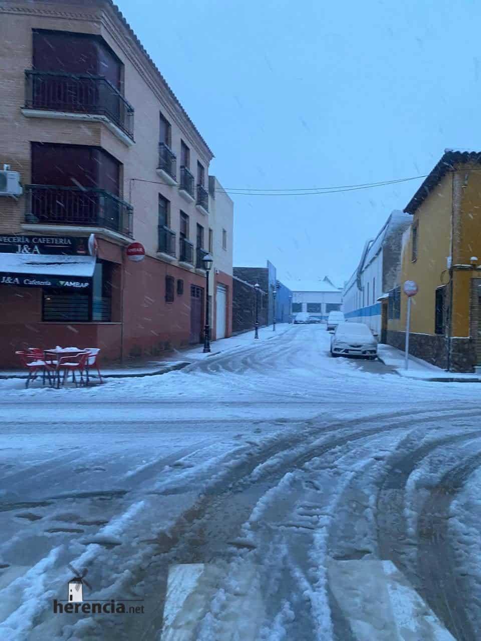 Fotografías de la nevada en Herencia (Ciudad Real) 68