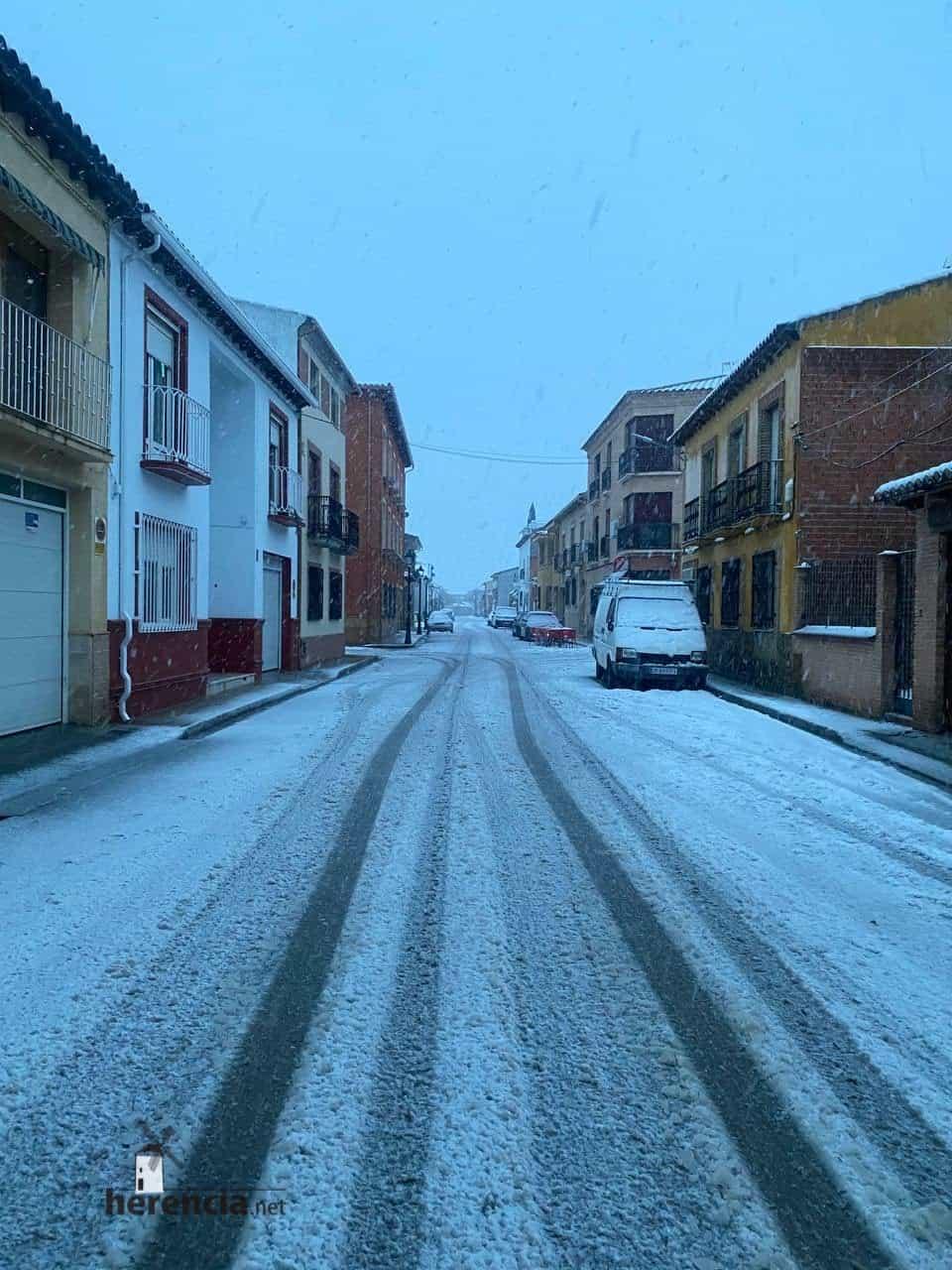 Fotografías de la nevada en Herencia (Ciudad Real) 69