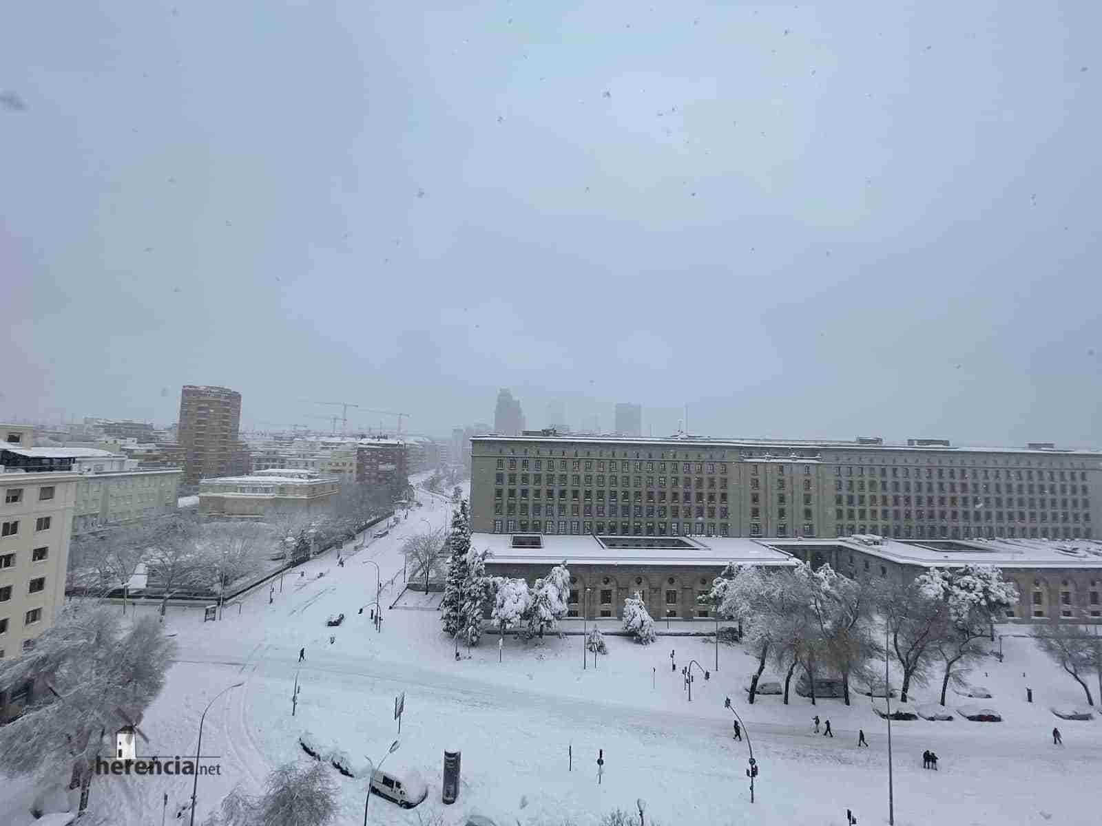 Fotografías de la nevada de enero en Madrid (España) 116