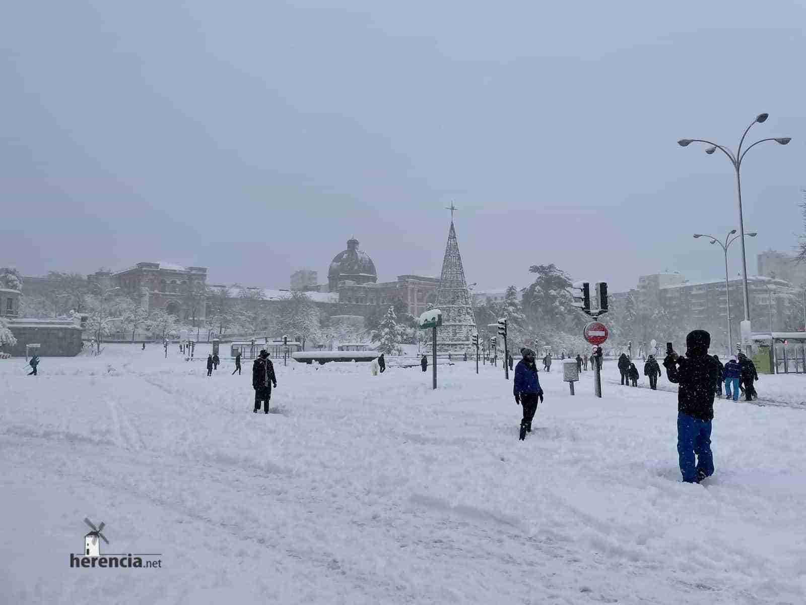 Fotografías de la nevada de enero en Madrid (España) 129