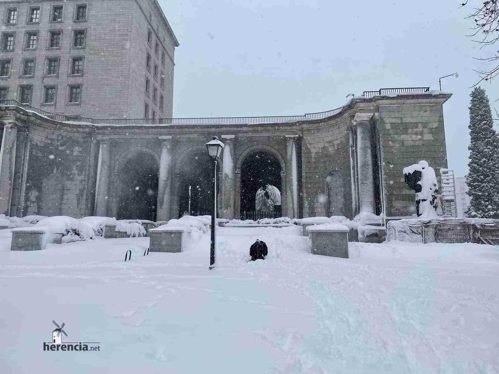 Fotografías de la nevada de enero en Madrid (España) 130