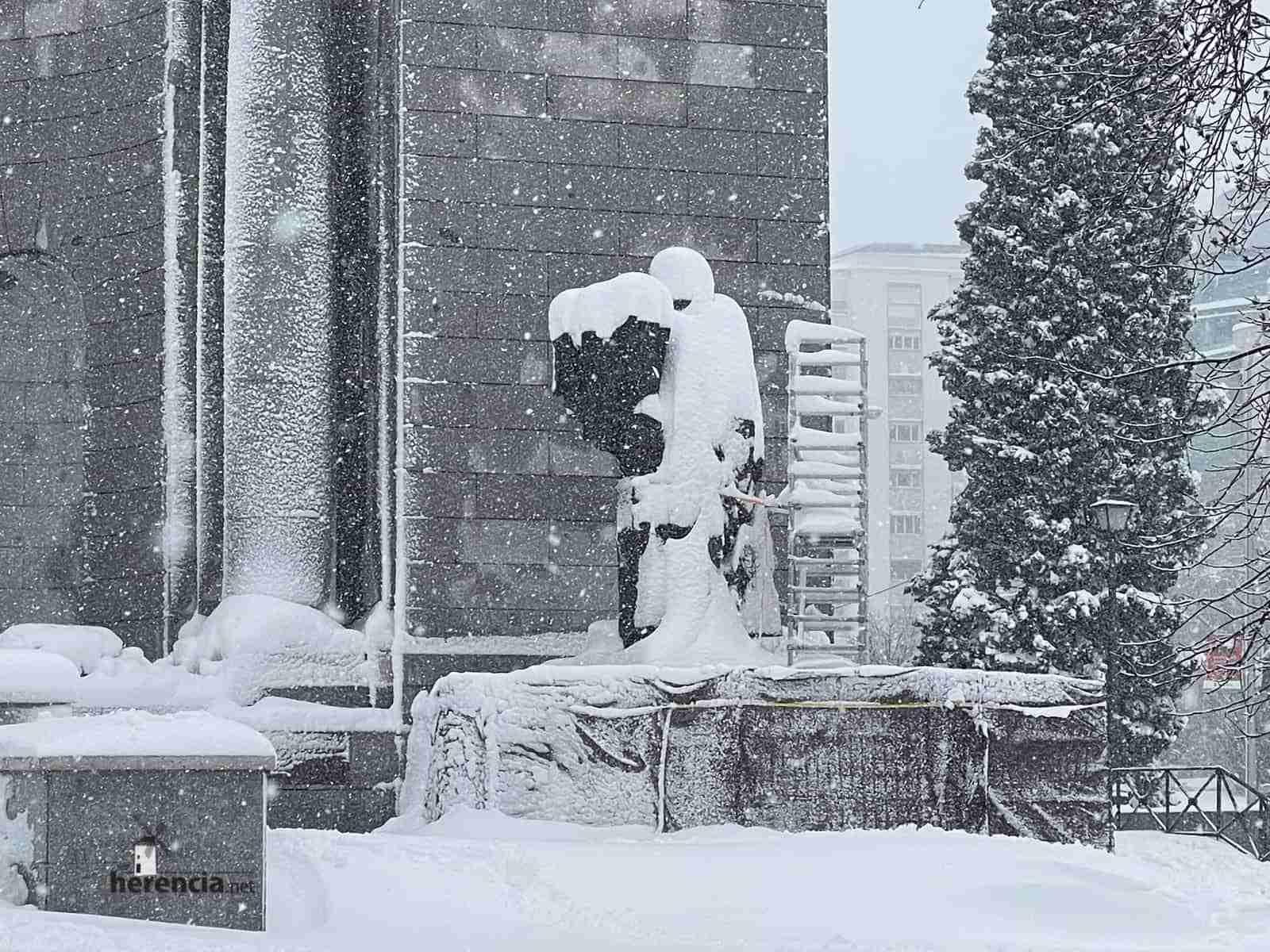 Fotografías de la nevada de enero en Madrid (España) 206