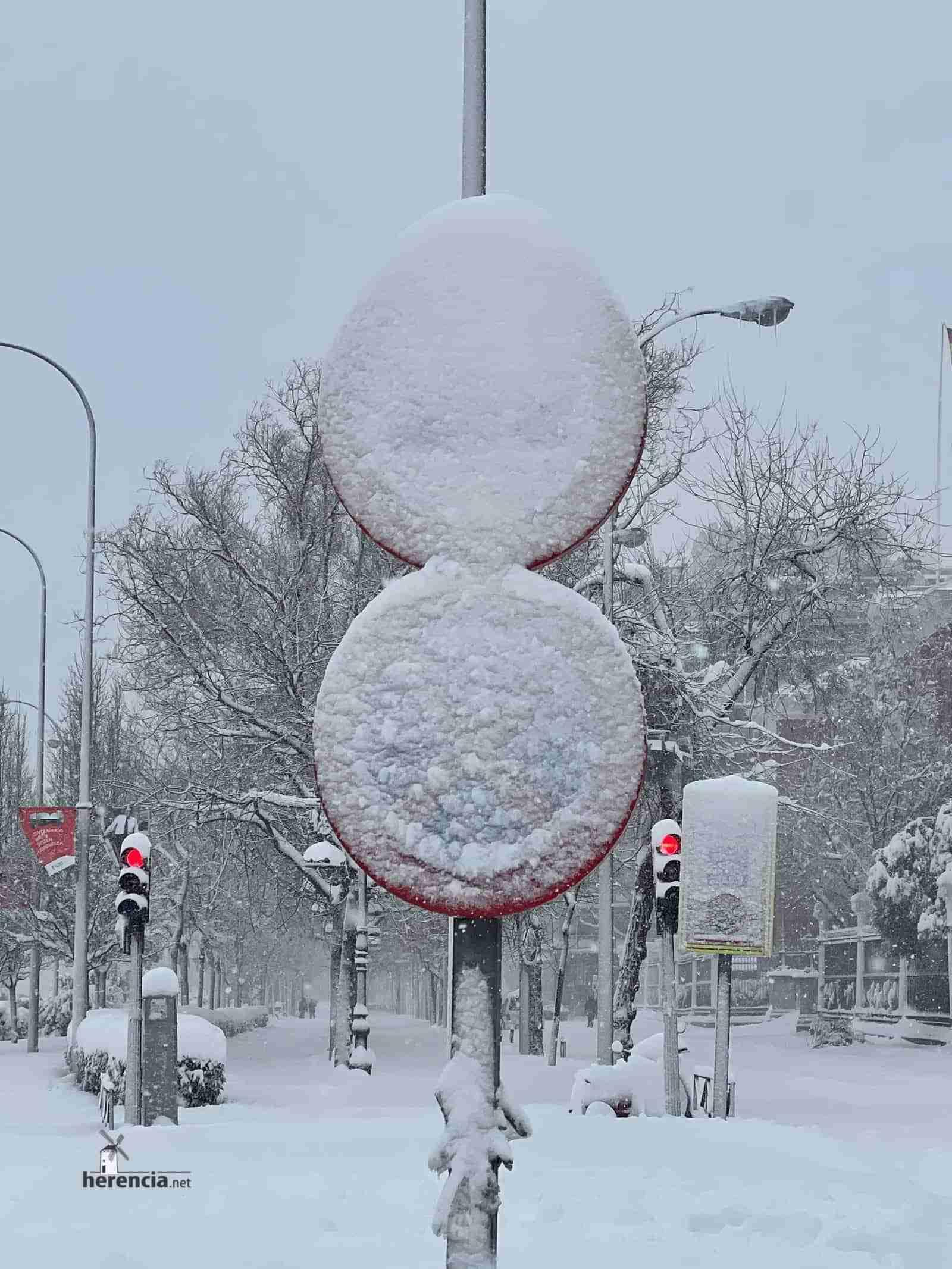 Fotografías de la nevada de enero en Madrid (España) 134