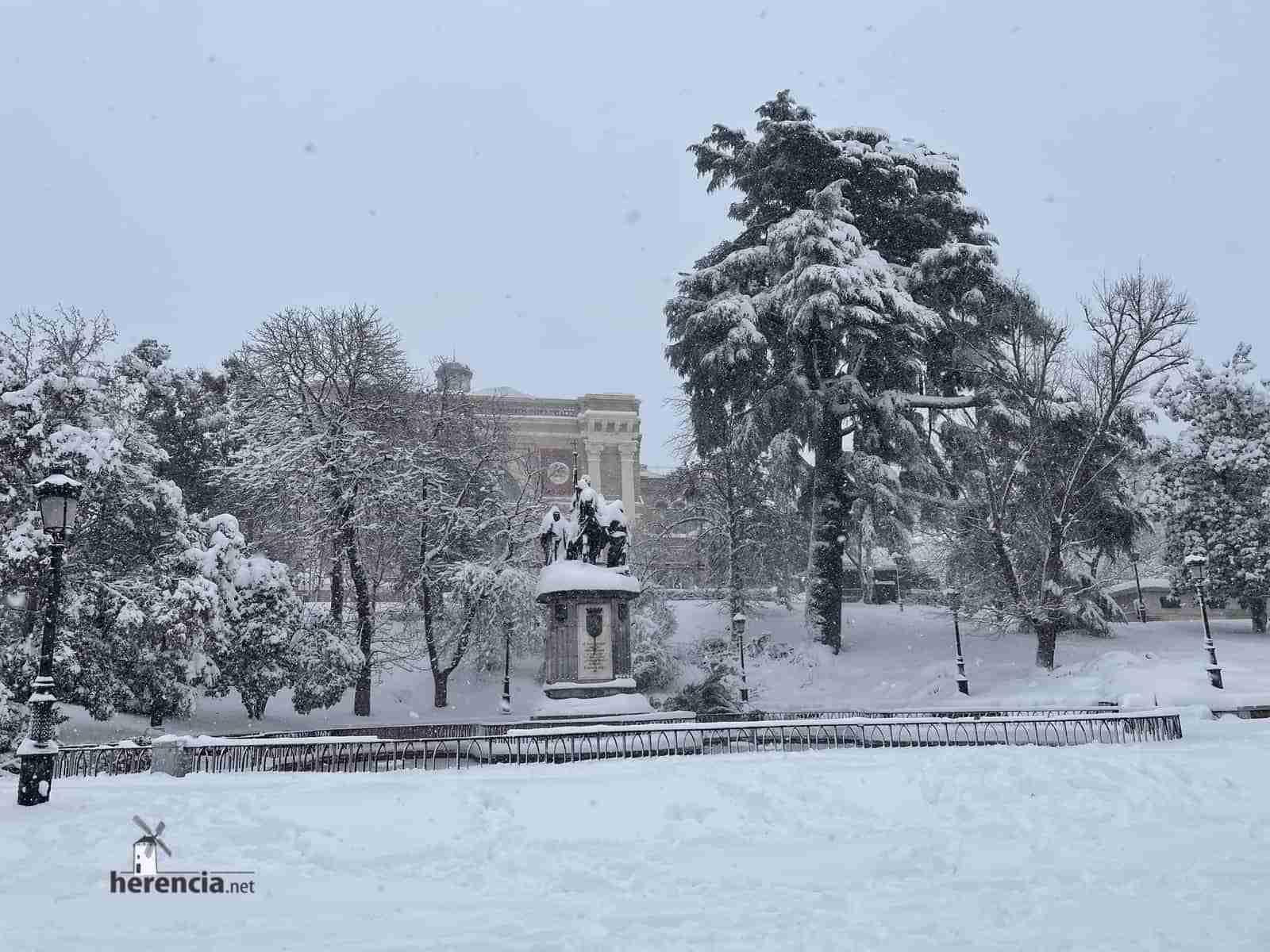 Fotografías de la nevada de enero en Madrid (España) 139