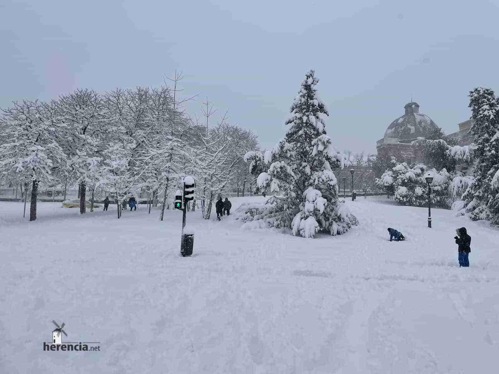 Fotografías de la nevada de enero en Madrid (España) 215