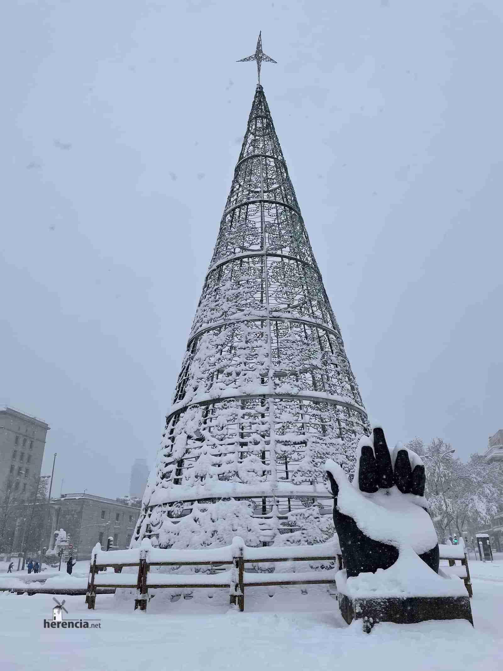 Fotografías de la nevada de enero en Madrid (España) 216