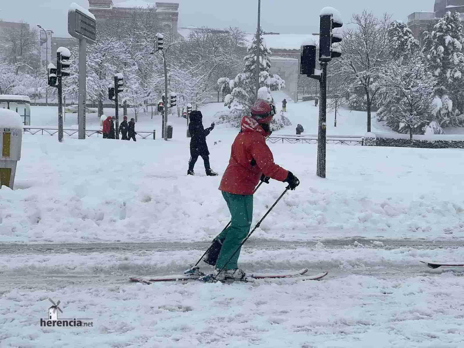 Fotografías de la nevada de enero en Madrid (España) 142