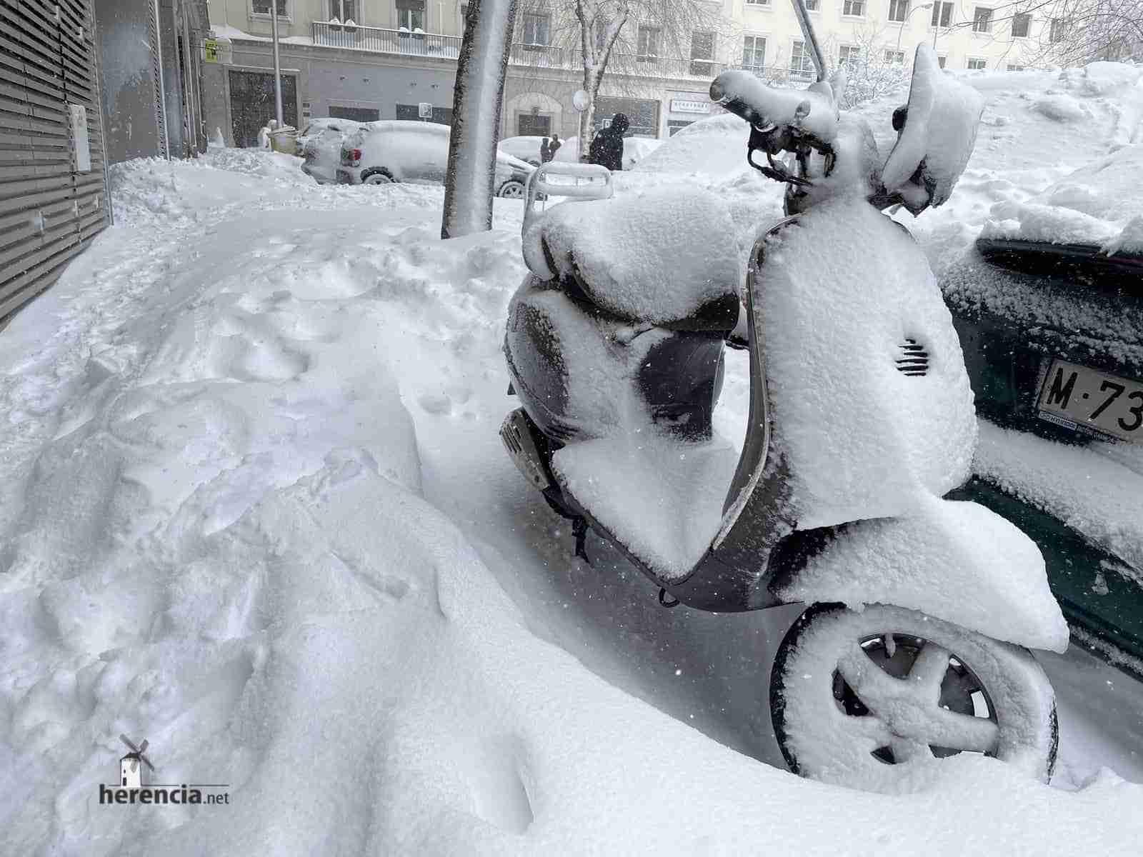 Fotografías de la nevada de enero en Madrid (España) 118