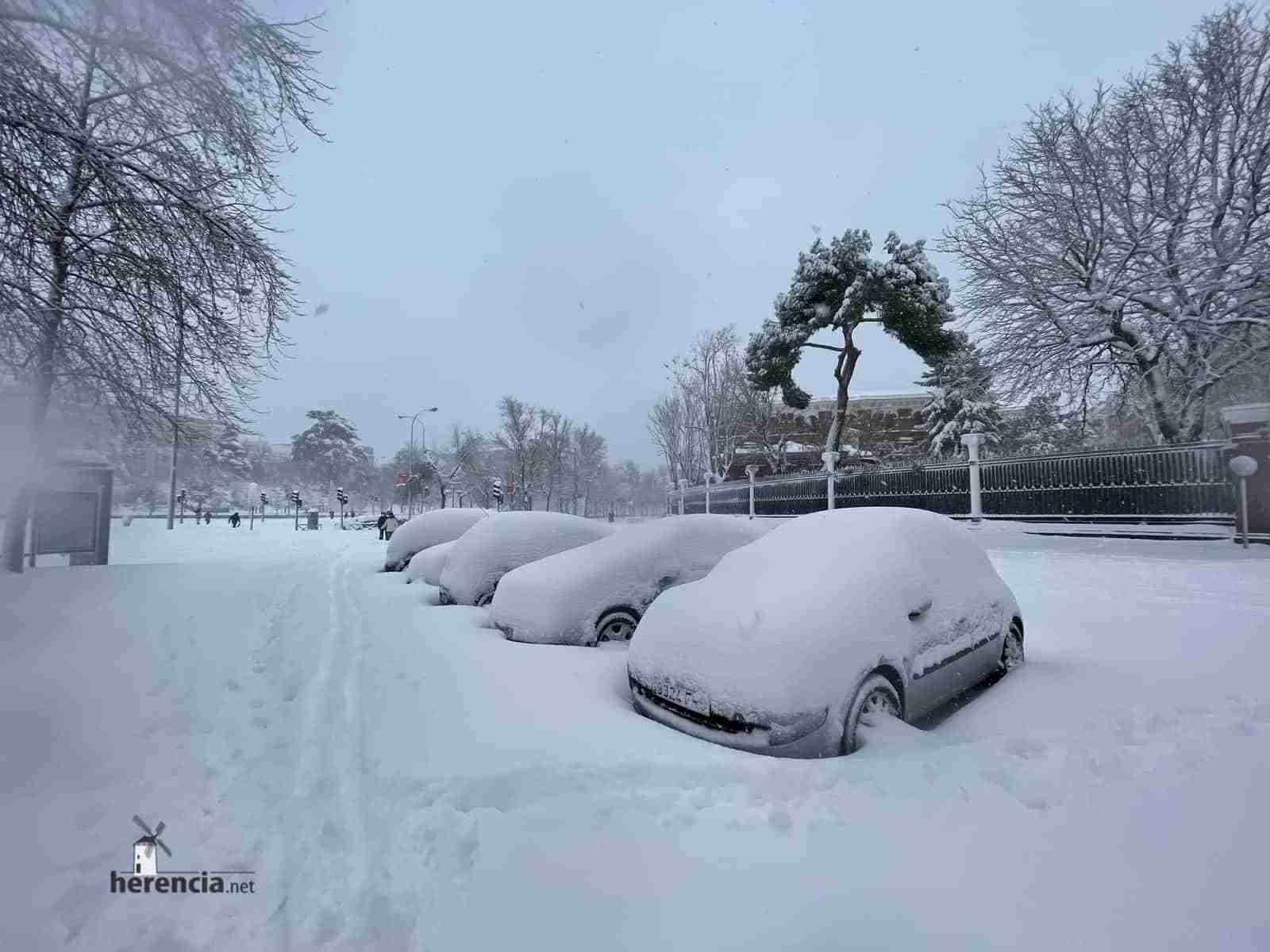 Fotografías de la nevada de enero en Madrid (España) 219
