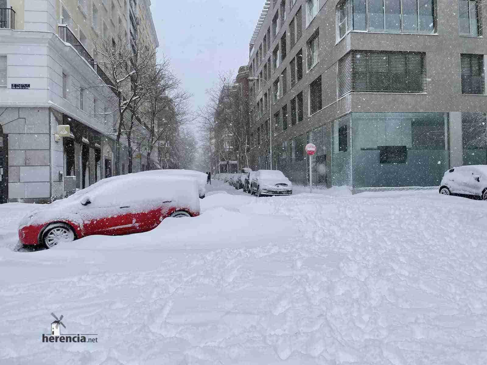 Fotografías de la nevada de enero en Madrid (España) 222