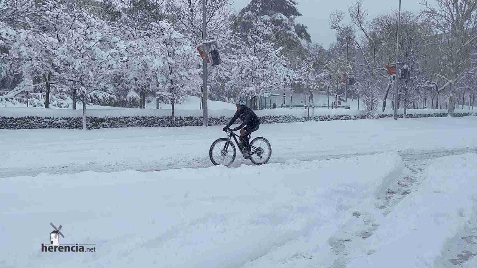 Fotografías de la nevada de enero en Madrid (España) 149