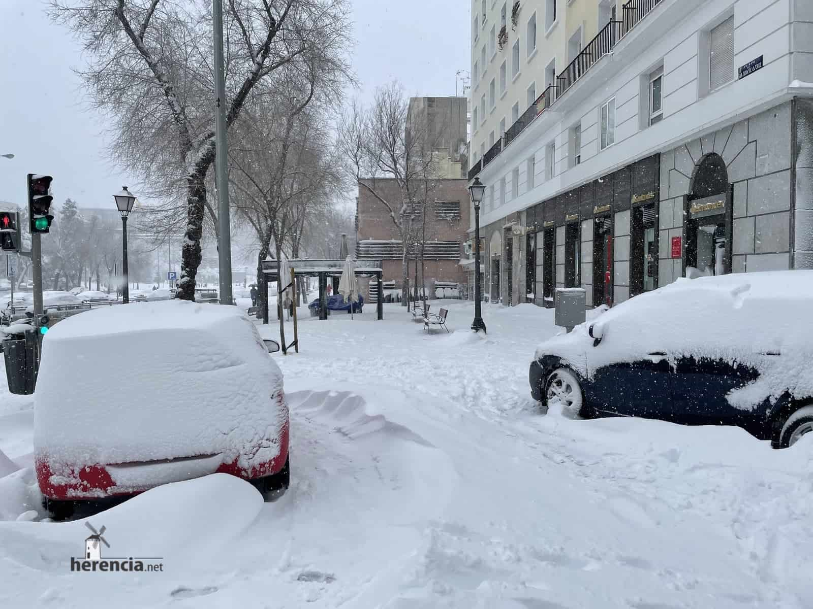 Fotografías de la nevada de enero en Madrid (España) 120