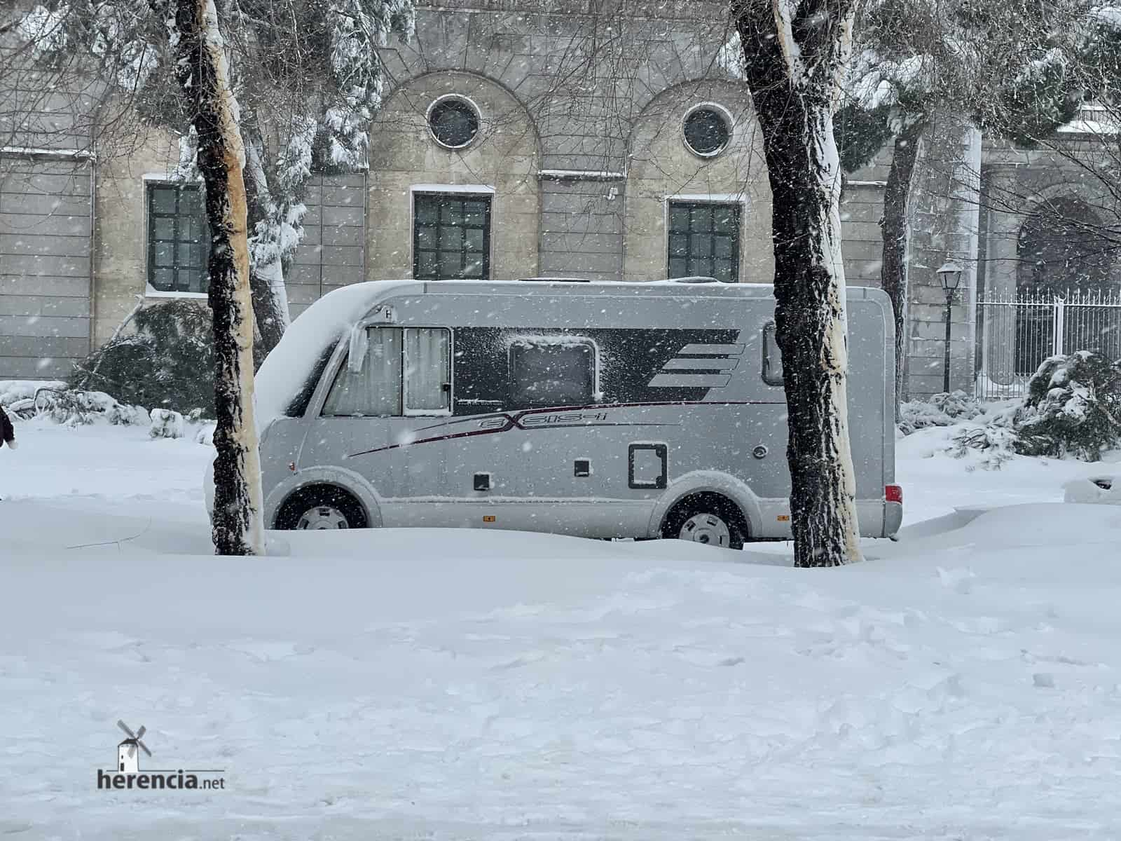 Fotografías de la nevada de enero en Madrid (España) 199