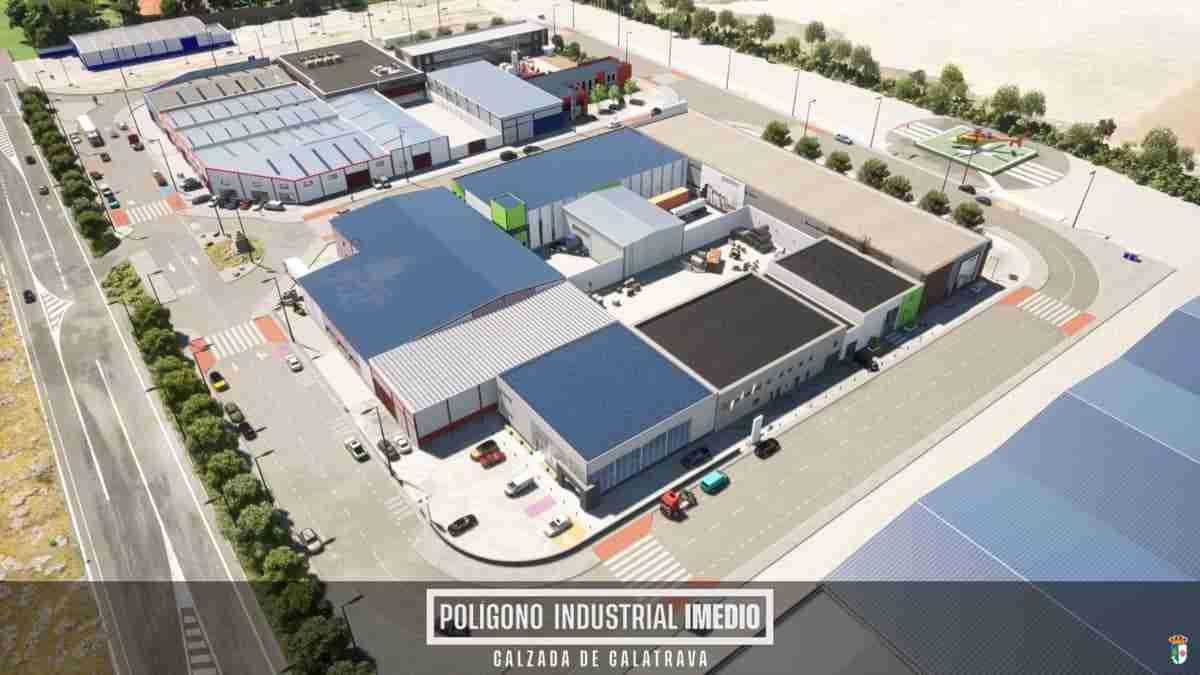 poligono industrial imedio calzada de calatrava