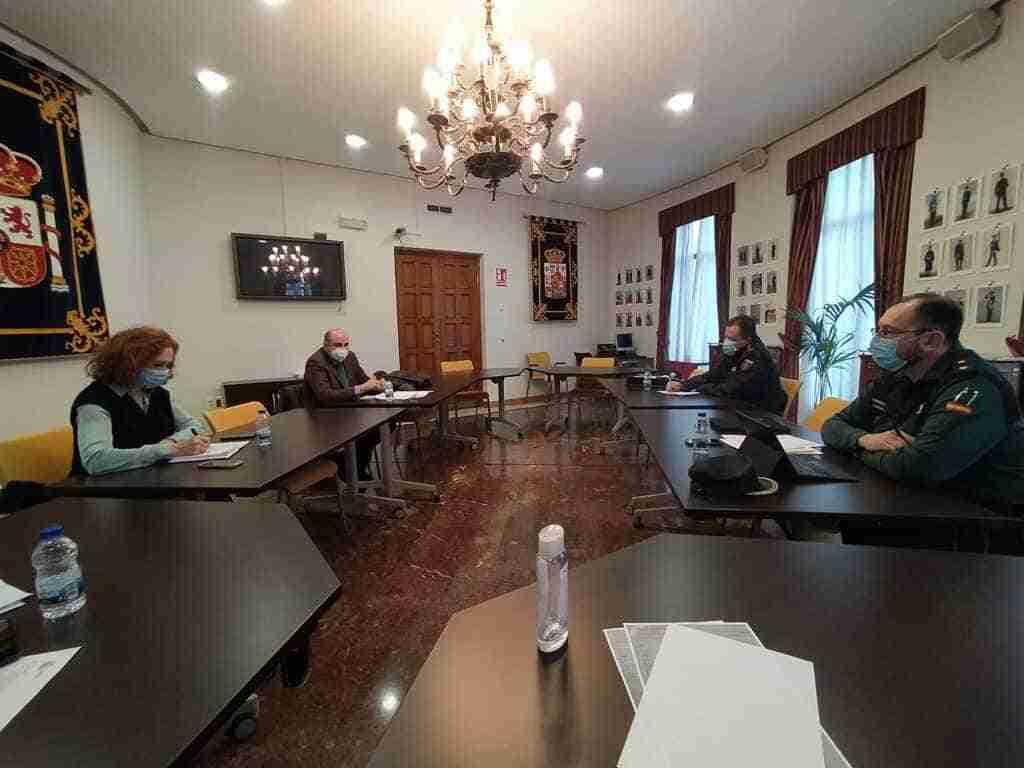 Reunión de la Subdelegación de Gobierno y el CECOP para seguir las restricciones y las limitaciones perimetrales de los términos municipales provinciales 4