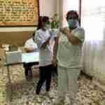 Quintar de la Orden comienza con la vacunación de los residentes y trabajadores de las residencias de la localidad 2