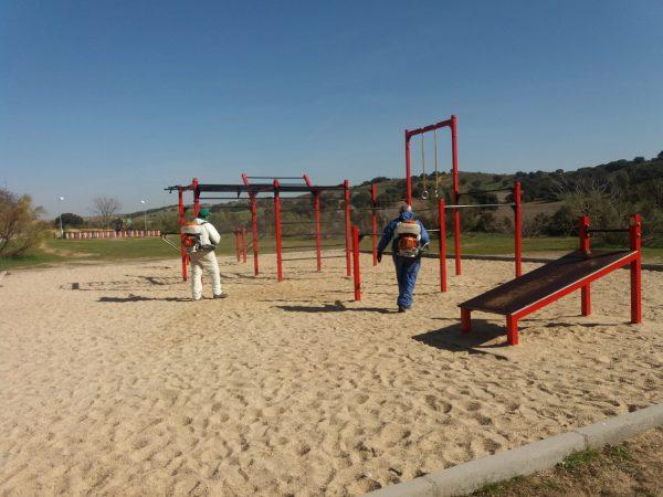 Limpieza áreas infantiles y street workout (5)