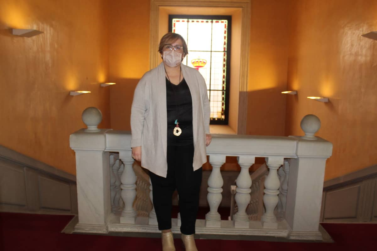 Carmen Olmedo delegada de la Junta