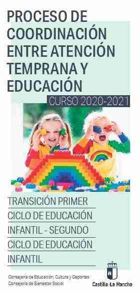 El Gobierno regional aclaró dudas acerca de la incorporación de los niños que reciben Atención Temprana al segundo ciclo de Infantil 1