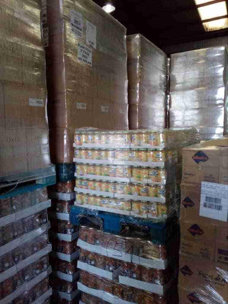 El Banco de Alimentos de Ciudad Real recibe 20.000 kilos menos de productos de la Unión Europea 1