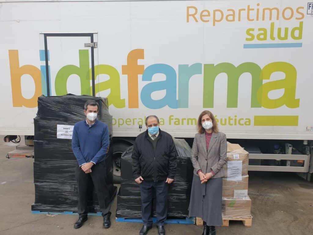 Bidafarma donó 590 kilos de productos de primera necesidad al Banco de Alimentos de Ciudad Real 1